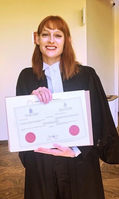 Tessa graduation